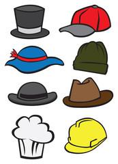 Hats Vector Icon Set