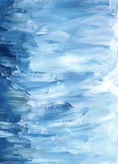 background Winter gouache paintbrush