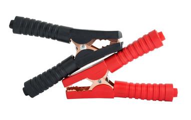 pair of alligator clamps