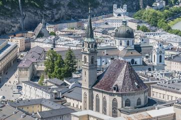 Franciscan Church (Franziskanerkirche) at Salzburg, Austria