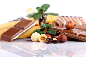 Cioccolato,nocciole e caffè