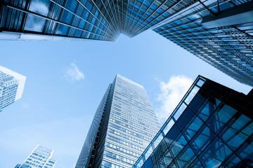 Wieżowiec biuro biznes budynek, Londyn, Anglia, UK