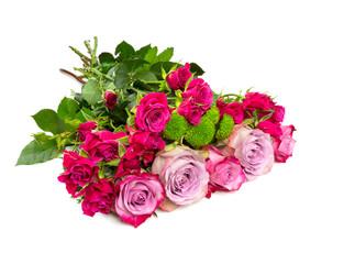 bunch of beautiful roses