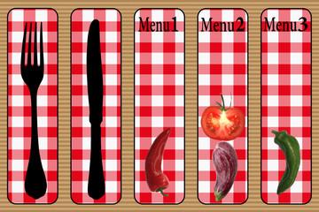 Restaurant Menu Végétarien