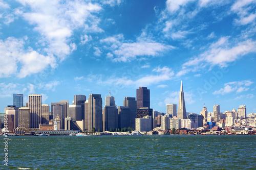 Poster, Tablou San Francisco skyline, California, US