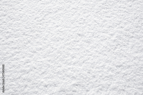 perfect fresh white snow background structure - 75641668