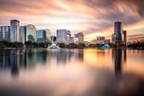 Fototapety Orlando, Florida Skyline