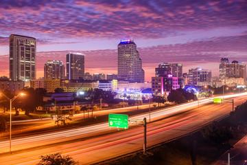Orlando, Florida Citycape