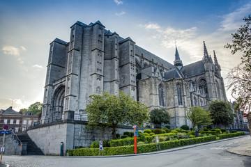 Saint Waltrude church in Mons, Belgium.