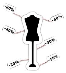 Vêtements soldés