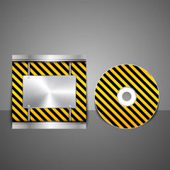 Technology CD cover design.