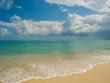 canvas print picture - Tropical beach in Koh Samui