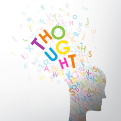 THOUGHT (thinking positive cognition intelligence human)
