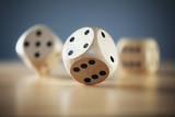 Rolling the dice - 75643813