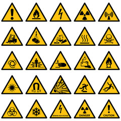 Standard Warning sign collection