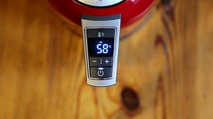 heating water kettle indicator