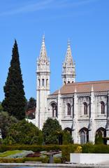 Klosterdetail Sankt Hiieronymus Belem Lissabon