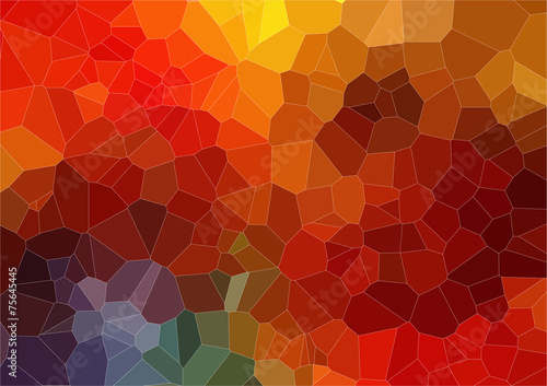 Foto op Aluminium Geometrische Achtergrond Abstract 2D mosaic colorful background