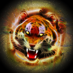 Cosmic Fire Tiger Roar