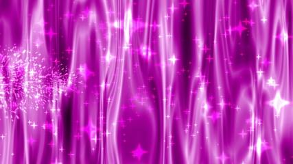 background pink stars 4k