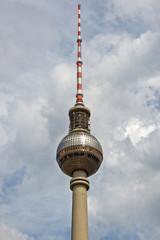 Berlin TV tower (Fernsehturm), Germany