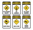 Open water warnings, set II - 75647060