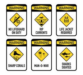 Open water warnings, set II