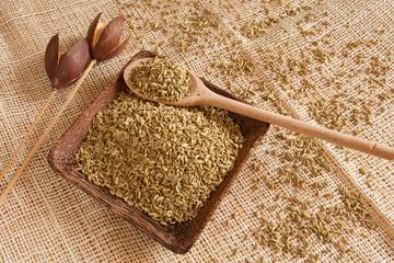 fennel seeds as natural ingredient