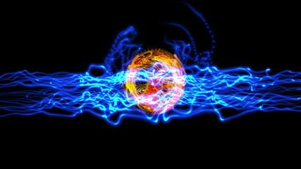 energy ball plasma 4k