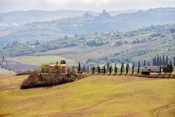 Val d'Orcia in Tuscany, Italy