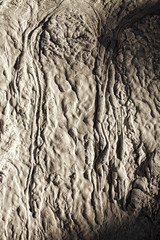 colata di fango solidificato