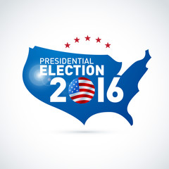 USA presidential election in 2016