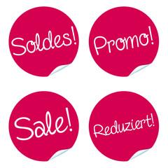 Button set sale! in different languages