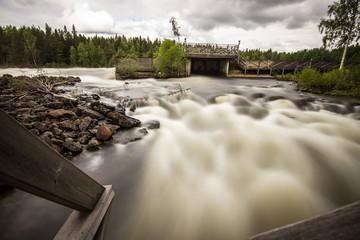 Raging Swedish River