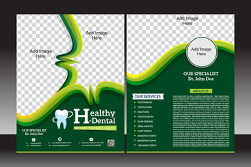 health flyer template design