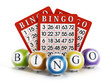 Bingo balls and cards - 75655203