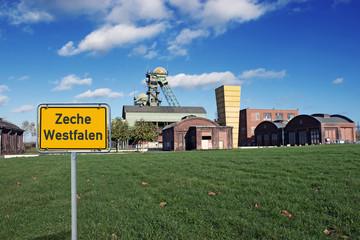 Betriebsgelände Zeche Westfalen