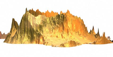 Gold mountains