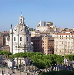 Santa Maria di Loreto church in Rome
