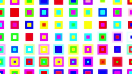 abstract color boxes 4k