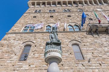 Giuditta e Oloferne statue in Florence, Italy