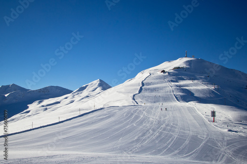 winter time in Alps - 75660499