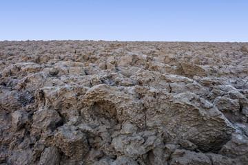 Terres labourées