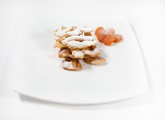 crunchy cookies with vanilla