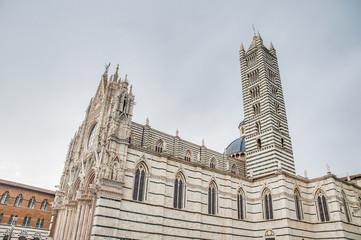 Santa Maria della Scala, a church in Siena, Tuscany, Italy.