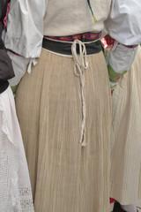 jupe plissée traditionnelle Croate