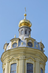 Fragment of Peter and Paul Cathedral