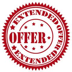 Extended Offer-stamp