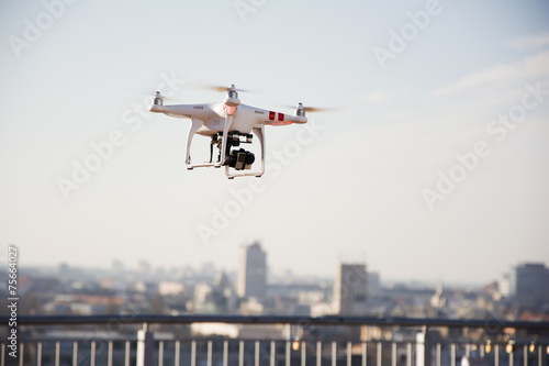 Drone prepared for flight - 75664027
