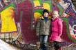 Graffiti an Mauer